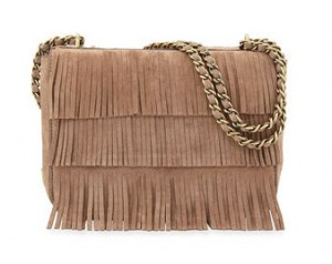 Tory Burch fringe suede