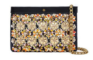 Tory embellished clutch